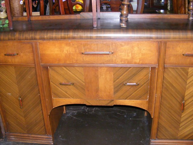 Early Century Art Deco Buffet Table Marva S Placemarva S Place