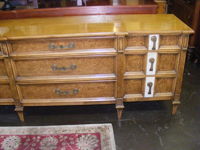 Beautiful Antique Romweber Dresser With Mirror Marva S Placemarva Place