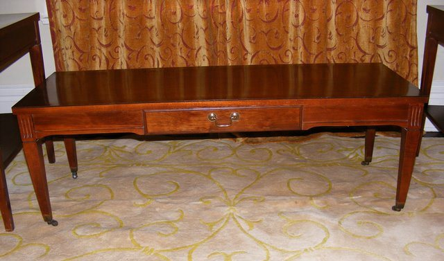 vintage mersman mahogany coffee table marva 39 s placemarva 39 s place