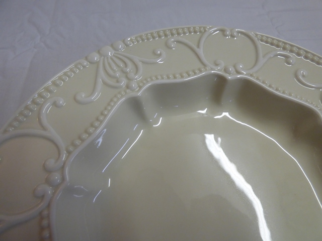 & Aristocrat Ambiance Rimmed Salad Bowl - Marvau0027s PlaceMarvau0027s Place