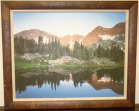 Original Framed Landscape Oil Painting. High end designer brand used furniture and home decor at significantly low prices. Fine Art. Furniture Consignment.