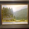 Cydney Springer Storm Brewing Oil Painting. High end designer brand used furniture and home decor at significantly low prices. Furniture Consignment.