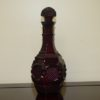 Vintage Avon Ruby Red Cape Cod Wine Decanter