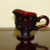 Vintage Avon 1876 Red Cape Cod Collection Red Creamer