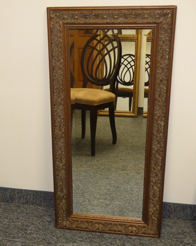 decorative vintage framed mirror