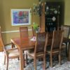 Henredon Dining Table and 6 Chairs