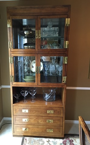 henredon curio cabinet - marva's placemarva's place
