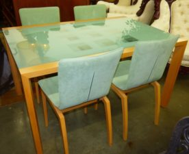 Designer Table with 4 Chairs