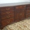 Henkel Harris Long Dresser with Double Mirrors