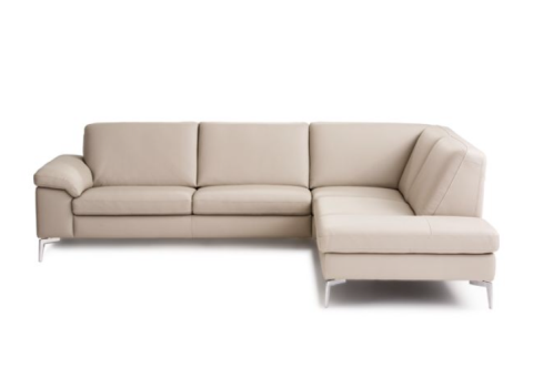 Nicoletti Custom Sectional Leather Sofa