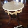 End Table with Granite Top