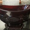 Avon 1876 Ruby Red Cape Cod Footed Sauce Boat