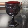 Avon 1876 Ruby Red Cape Cod Water Goblet