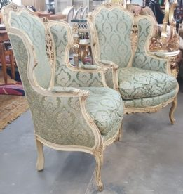 50's French Provincial Side Chairs