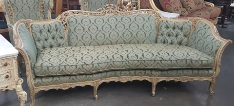 50's French Provincial Sofa