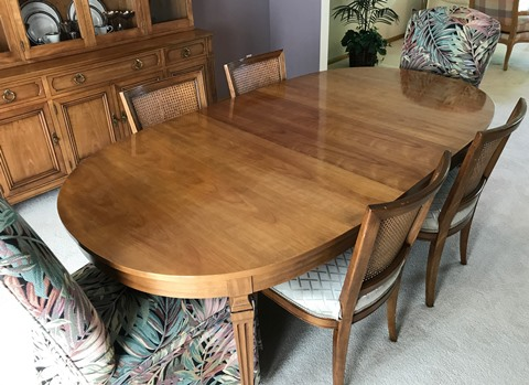 Kindel Formal Dining Table With 7 Chairs