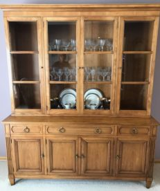 Kindel Formal China Cabinet