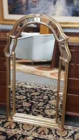 Brass Framed Mirror