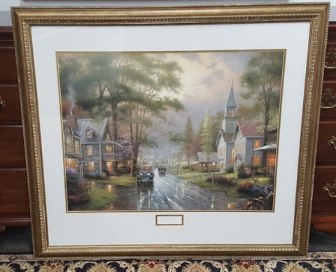 "Thomas Kinkade ""Hometown Memories"""