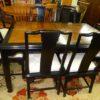 Century Chinoiserie Dining Table with 8 Chairs