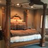 4 Poster Canopy King Bed