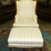 Baker Wingback Chair and Ottoman