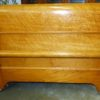 Birds Eye Maple Twin Sleigh Bed