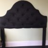 Silk Fabric Queen Headboard