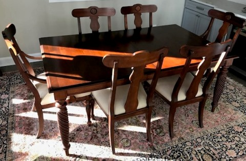 Ethan Dining Table with 8 Chairs