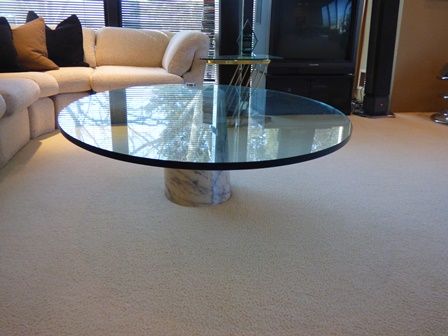 Marble Base Gl Table 3000