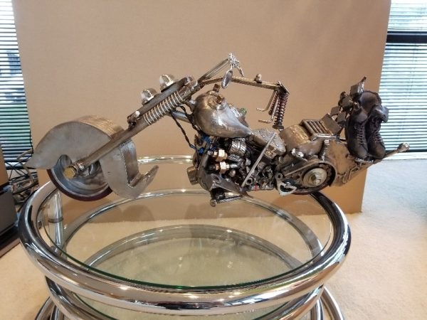 "Marcia Perry ""Motorcycle""  SCULPTURE"