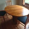 Skovby Dining Table with 4 Chairs
