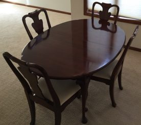 Statton Dining Table With 6 Chairs